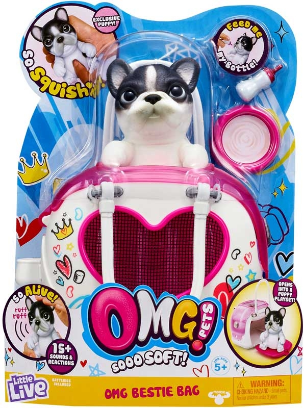 Wholesalers of Little Live Omg Pets Omg Bestie Bag toys