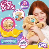 Wholesalers of Little Live Pets Cozy Dozys Charlie The Puppy toys image 3