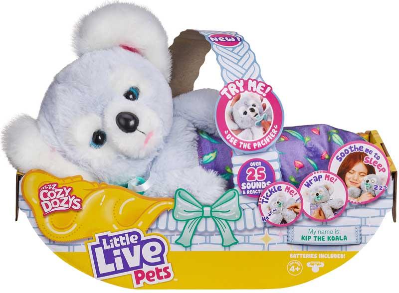 Wholesalers of Little Live Pets Cozy Dozys Koala toys