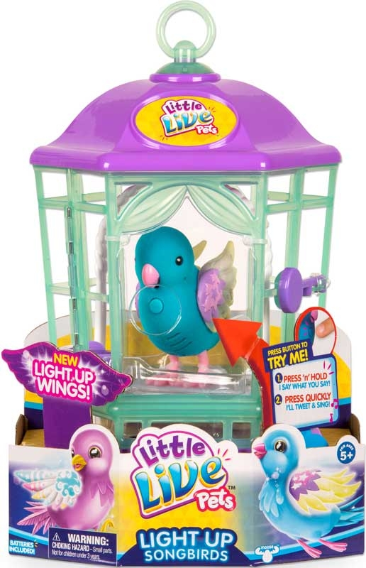 Wholesalers of Little Live Pets Light-up Songbirds Cage - Series 8 toys