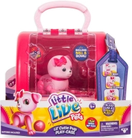 Wholesalers of Little Live Pets Lil Cutie Pup Playcase - Series 2 toys image