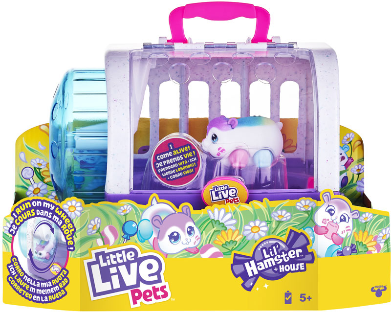 Wholesalers of Little Live Pets Lil Hamster And House Playset S1 toys