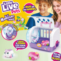 Wholesalers of Little Live Pets Lil Hamster And House Playset S1 toys image 4