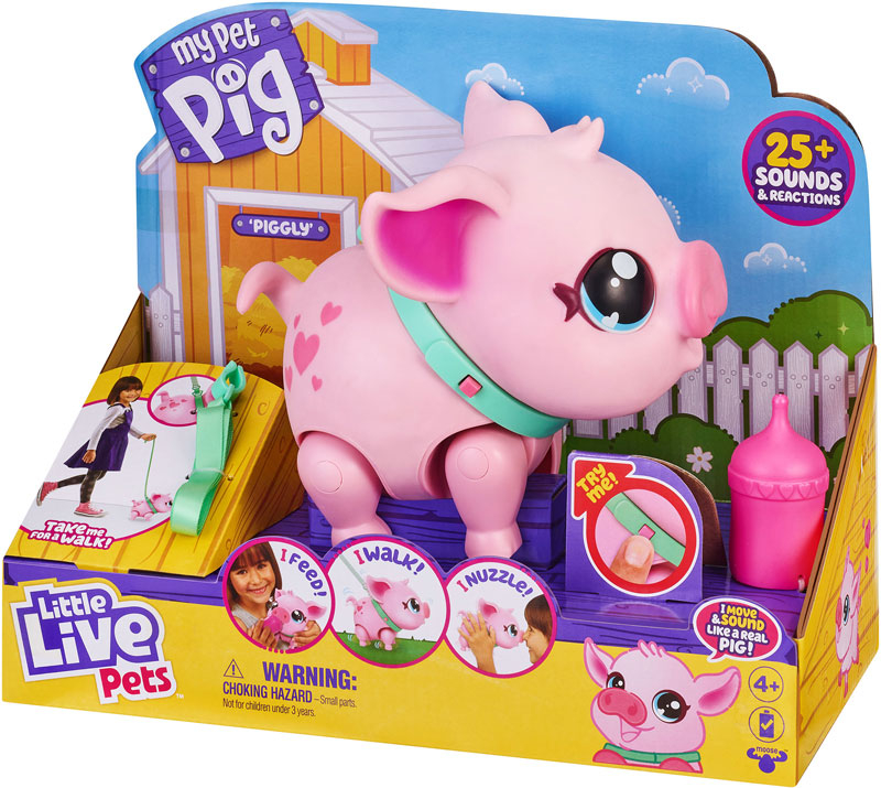 Wholesalers of Little Live Pets My Pet Pig Piggly toys