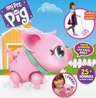 Wholesalers of Little Live Pets My Pet Pig Piggly toys image 3