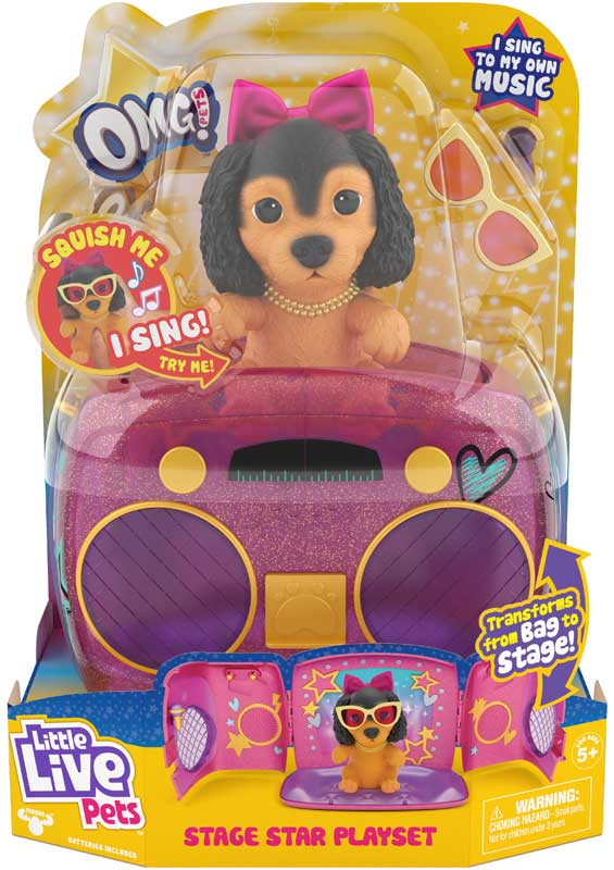 Wholesalers of Little Live Pets Omg! Pup Star Playset toys