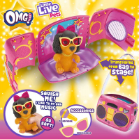 Wholesalers of Little Live Pets Omg! Pup Star Playset toys image 4