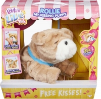 Wholesalers of Little Live Pets Rollie My Kissing Puppy toys image