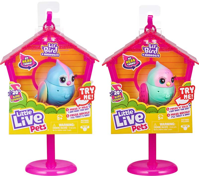 Wholesalers of Little Live Pets Sweet Tweets Bird House toys