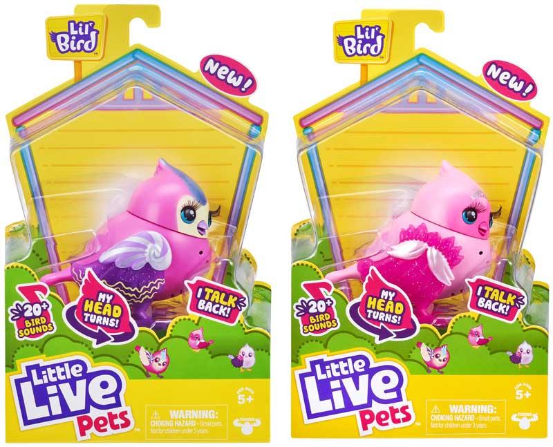 Wholesalers of Little Live Pets Sweet Tweets Bird toys