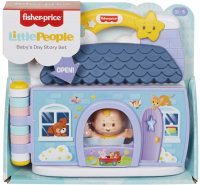 Wholesalers of Little People Babies Story Book Set toys image