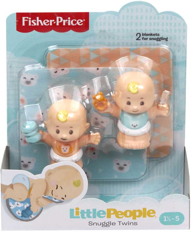 Wholesalers of Little People Snuggle Twins Baby Figure Pack Asst toys