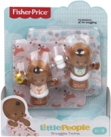 Wholesalers of Little People Snuggle Twins Baby Figure Pack Asst toys image 2