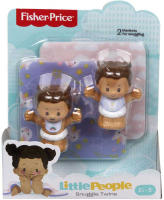Wholesalers of Little People Snuggle Twins Baby Figure Pack Asst toys image 3