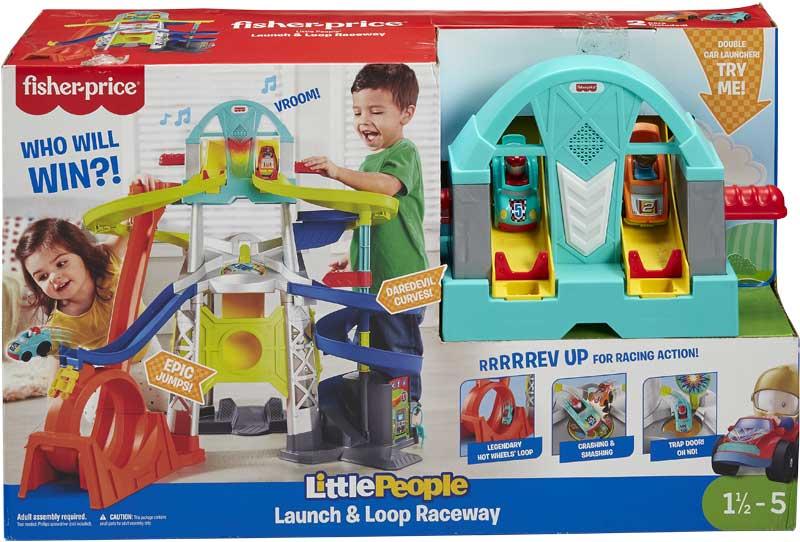Wholesalers of Little People Wheelies Launch & Loop Playset toys