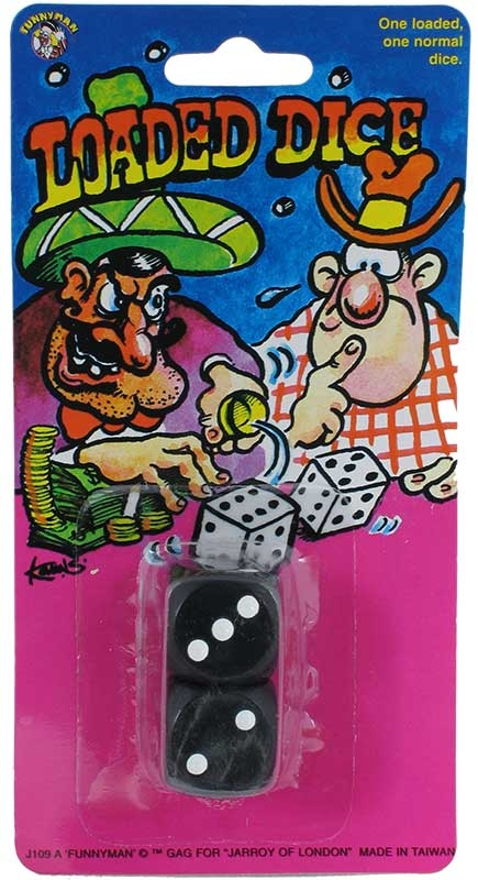 Wholesalers of Loaded Dice toys