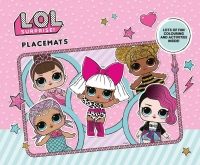 Wholesalers of Lol Surprise  Colouring Placemats toys image