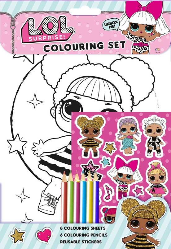 Wholesalers of Lol Surprise  Colouring Set toys
