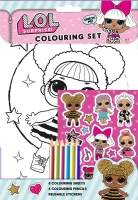 Wholesalers of Lol Surprise  Colouring Set toys image