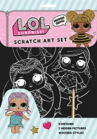 Wholesalers of Lol Surprise  Scratch Art toys image