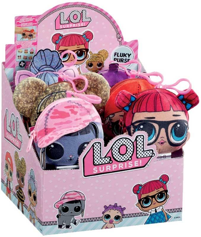 Wholesalers of Lol Surprise Squishy Fluky Plush Asst toys