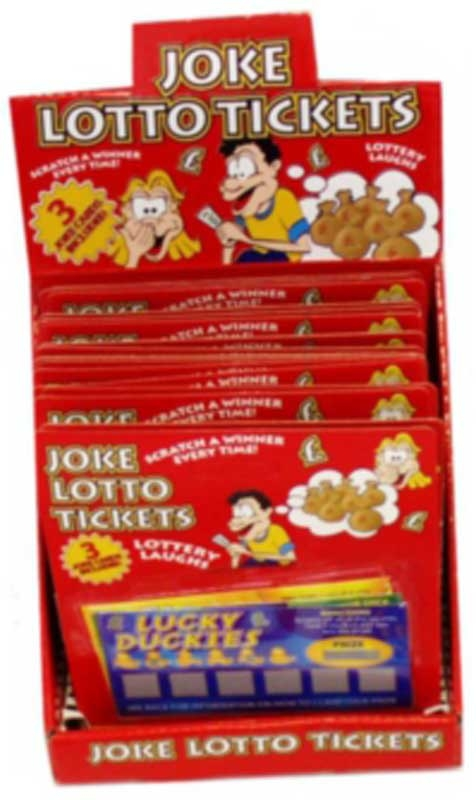 Wholesalers of Lotto Tickets Fun toys