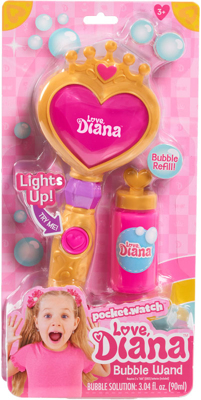 Wholesalers of Love Diana Light-up Bubble Wand toys