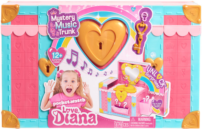Wholesalers of Love Diana Mystery Music Trunk toys