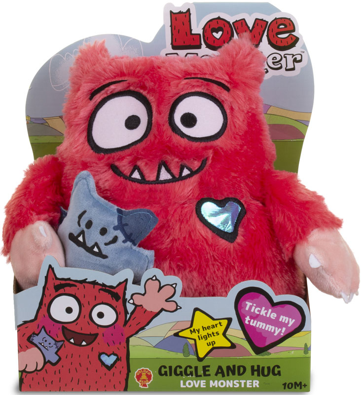 Wholesalers of Love Monster Feature Soft Toy toys