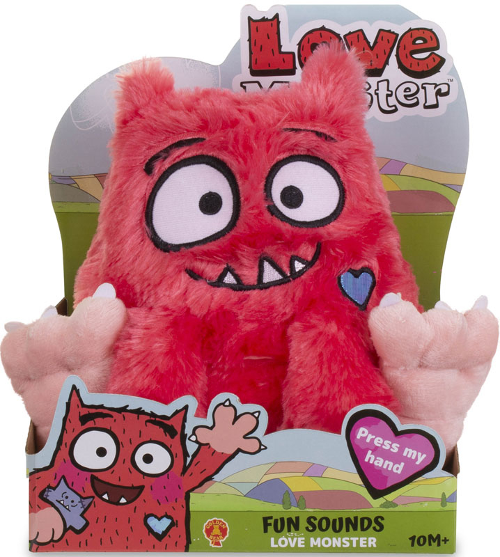 Wholesalers of Love Monster Fun Sounds Soft Toy toys