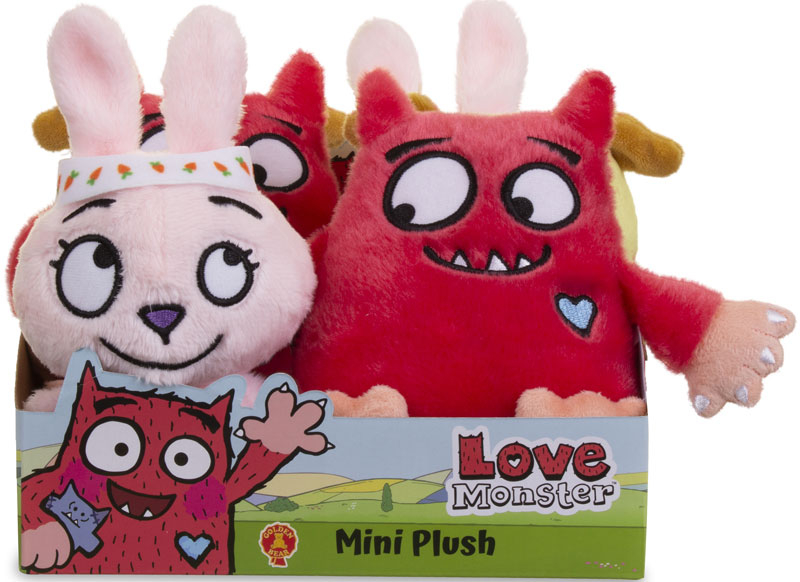Wholesalers of Love Monster Soft Toys Asst toys