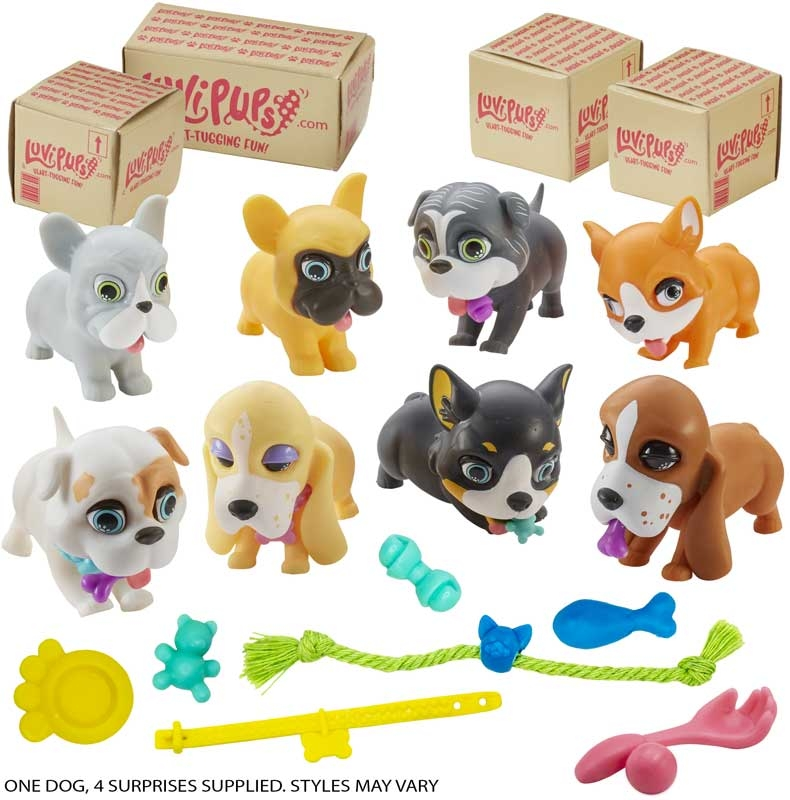 Wholesalers of Luvi Pups Asst toys