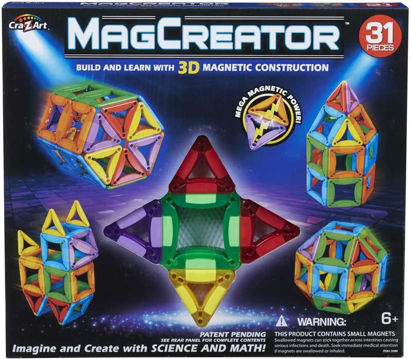 Wholesalers of Magcreator 31 Piece Set toys