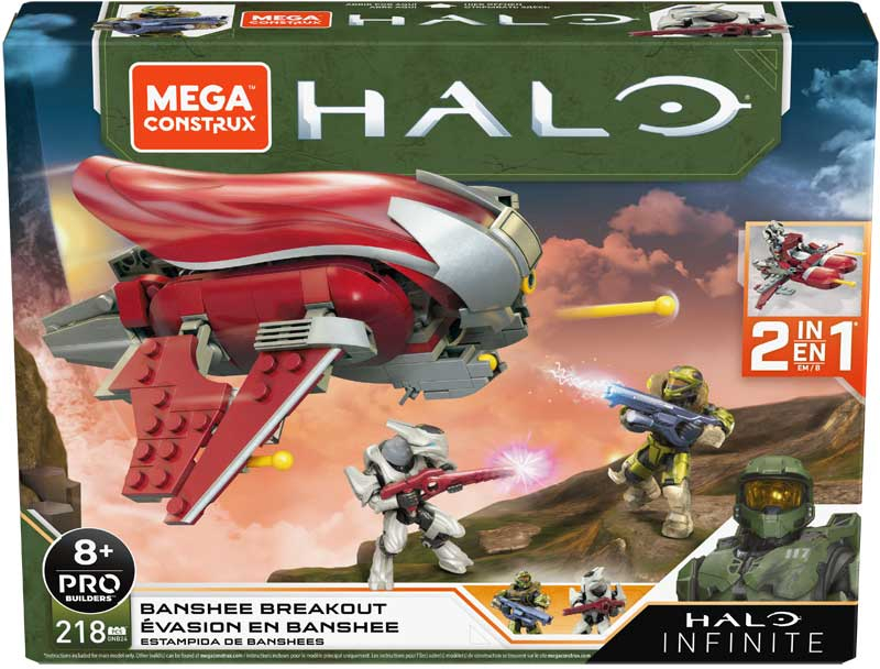 Wholesalers of Mega Construx Halo Infinite Vehicle 2 toys