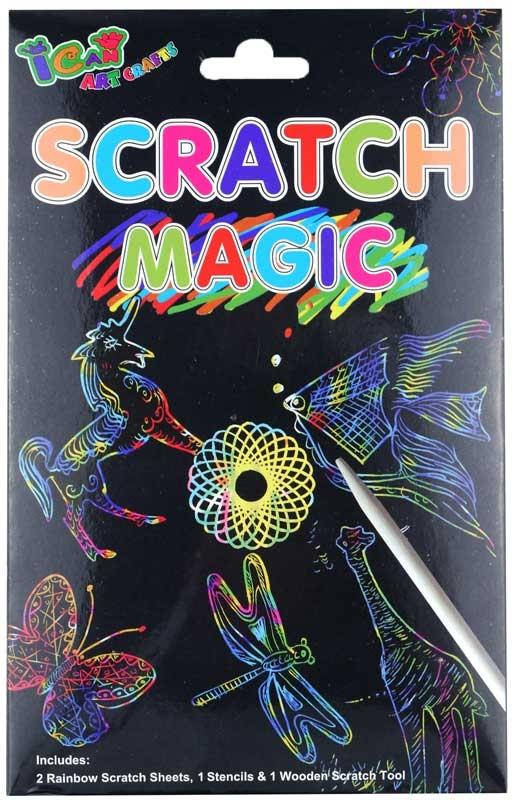 Wholesalers of Magic Colour Scratch Set toys