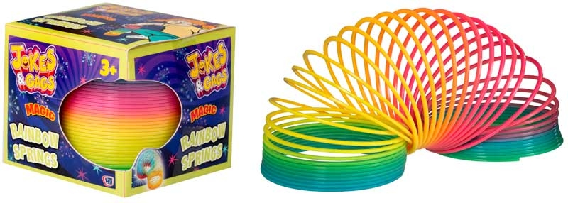 Wholesalers of Magic Rainbow Spring toys