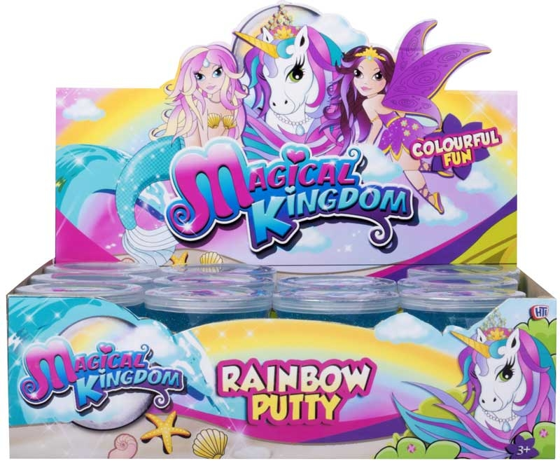 Wholesalers of Magical Kingdom Rainbow Putty toys