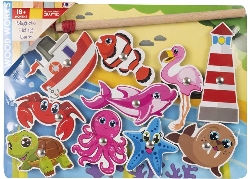 Wholesalers of Magnetic Fishing Puzzles toys