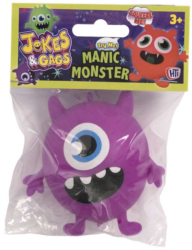 Wholesalers of Manic Monsters Astd toys