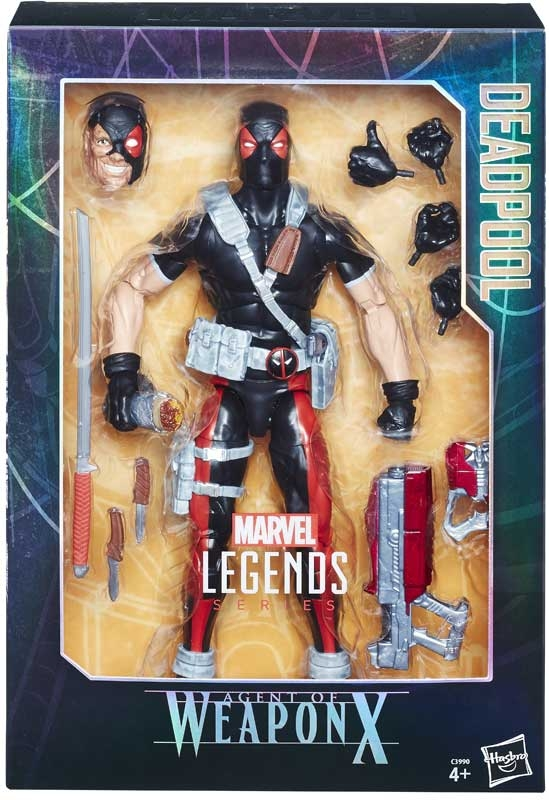 Wholesalers of Marvel 12 Inch Legends Deadpool Wpn X toys