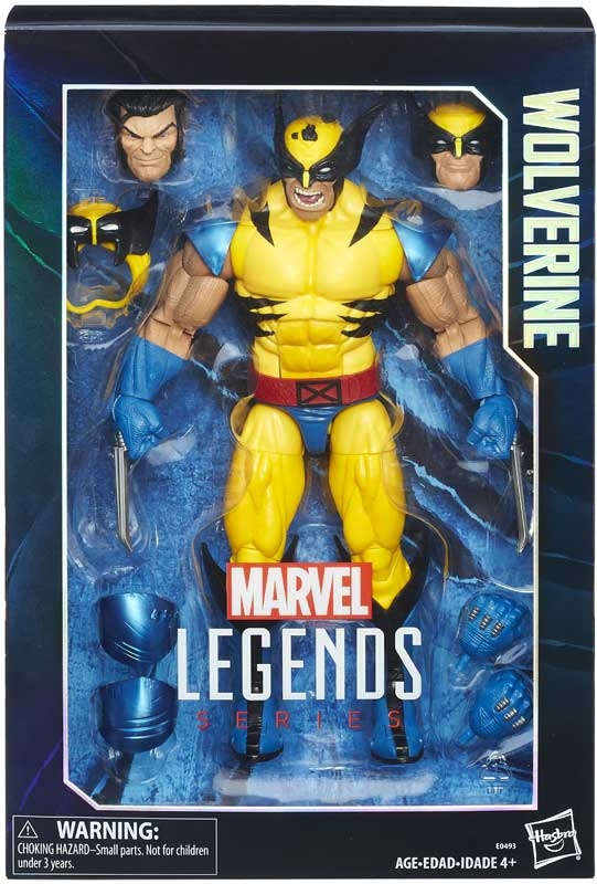 Wholesalers of Marvel 12 Inch Legends Wolverine toys