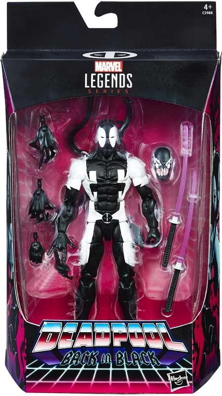 Wholesalers of Marvel 6 Inch Deadpool Back In Black toys