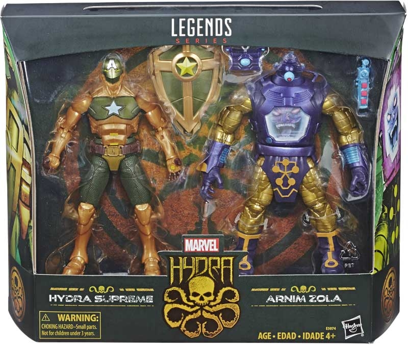 Wholesalers of Marvel 6in Legends Hail Hydra 2pk toys