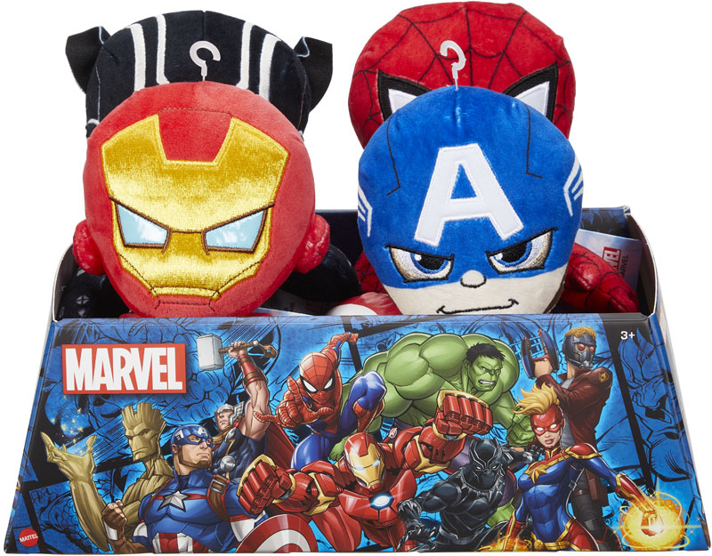 Wholesalers of Marvel Basic Plush Asst toys