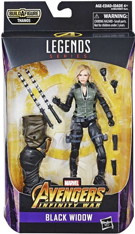 Wholesalers of Marvel Best Of 6 Inch Legends Black Widow toys