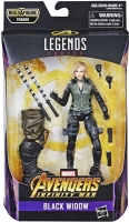 Wholesalers of Marvel Best Of 6 Inch Legends Black Widow toys image