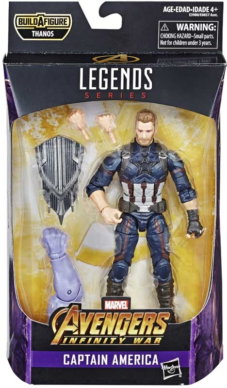 Wholesalers of Marvel Best Of 6 Inch Legends Captain America toys