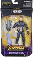 Wholesalers of Marvel Best Of 6 Inch Legends Captain America toys image