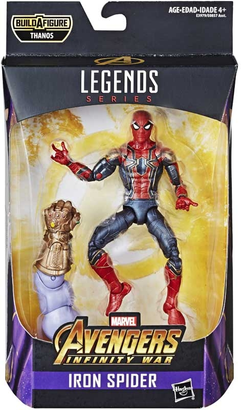 Wholesalers of Marvel Best Of 6 Inch Legends Iron Spider toys