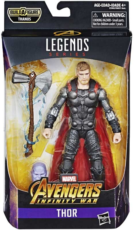 Wholesalers of Marvel Best Of 6 Inch Legends Thor toys